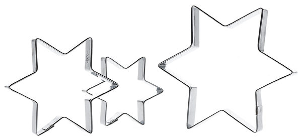 stjerne udstikkere