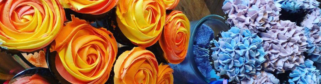 Frusoed.dk | rose og hortensia med tyl.