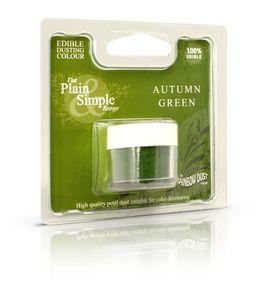 grøn pulver farve