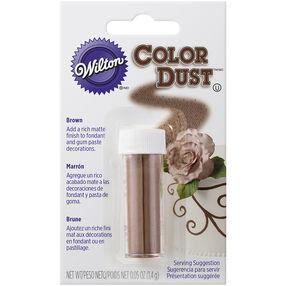 pulver farve brun