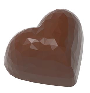 chokoladeform hjerte