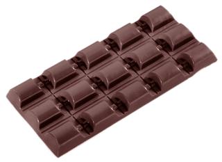 chokoladeform plade
