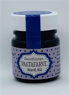 pastafarve mørk blå