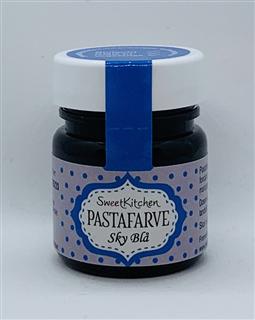 pastafarve lys blå