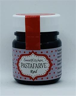 pastafarve rød
