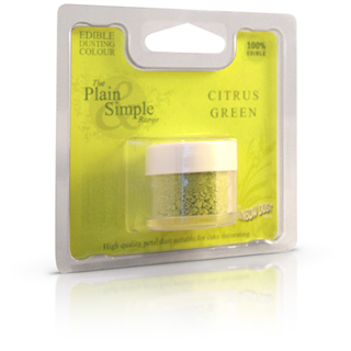 citrus grøn pulver farve