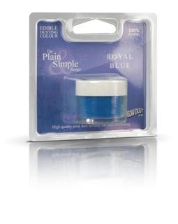 royal blue pulver farve